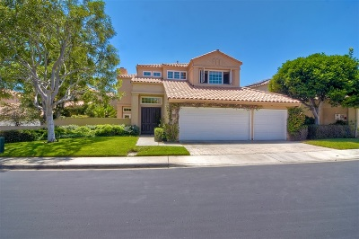 Del Mar Single Family Home For Sale: 4655 Caminito San Sebastian