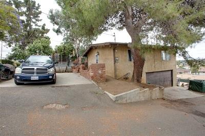 Vista Multi Family 2-4 For Sale: 650-52 Hillside Terrace