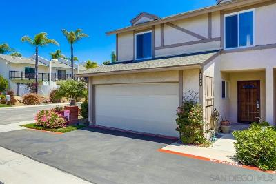 Carlsbad Townhouse For Sale: 2821 Unicornio St.