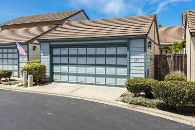 Escondido Townhouse For Sale: 427 Hanford Gln