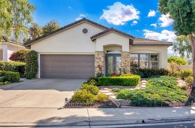 Carlsbad Single Family Home For Sale: 2972 Avenida Valera