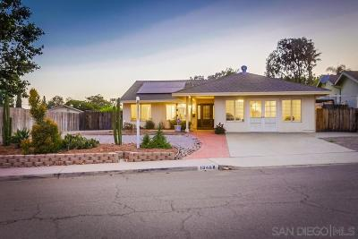 Poway Single Family Home For Sale: 13468 Los Olivos Ave