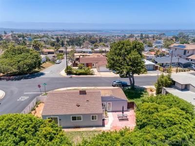 Clairemont, Clairemont Mesa, Clairemont Mesa East, Clairemont Unit 16, Clairmont Single Family Home For Sale: 2433 Deerpark Dr