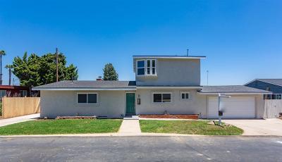 Single Family Home For Sale: 832 Hacienda Dr