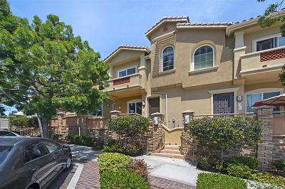 Carlsbad Townhouse For Sale: 2760 Carlsbad Blvd #102
