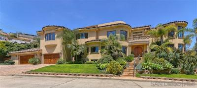 La Jolla Single Family Home For Sale: 838 Forward St