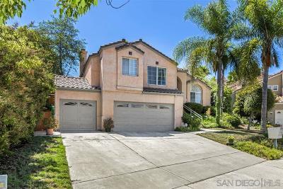 Escondido Single Family Home For Sale: 1371 Gilmore Pl