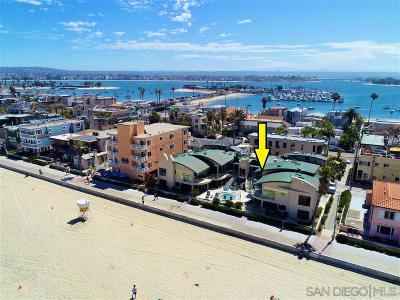 Attached For Sale: 3443 Ocean Front Walk #L