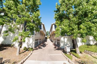 San Diego Townhouse For Sale: 4517 College Way #K