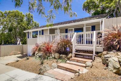 San Diego CA Single Family Home For Sale: $829,000