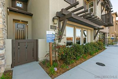 Carlsbad Townhouse For Sale: 3280 Vestra Way