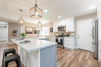 Santee Single Family Home For Sale: 9811 Gandy Ave