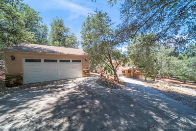Julian CA Single Family Home For Sale: $599,000