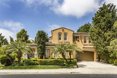 Carmel Valley Single Family Home For Sale: 4258 Philbrook Square