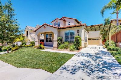 Chula Vista Single Family Home For Sale: 791 River Rock Rd
