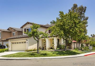 Chula Vista Single Family Home For Sale: 589 San Lucas Pl