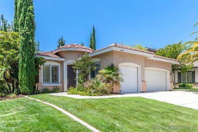 Murrieta, Temecula Single Family Home For Sale: 43639 Tirano Dr