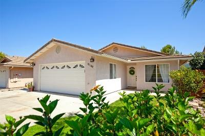 Lakeside Single Family Home For Sale: 9149 Attisha Way