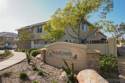 Ramona Townhouse For Sale: 443 Nickel Creek Dr