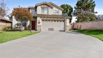 Chula Vista Single Family Home For Sale: 2234 Grove Park Place