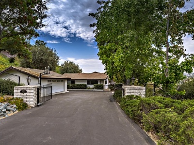 Fallbrook Single Family Home For Sale: 3006 Skycrest Dr