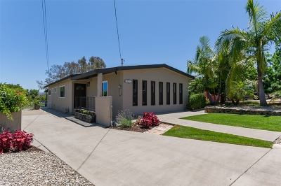 North Park, North Park - San Diego, North Park Bordering South Park, North Park, Kenningston, North Park/City Heights Single Family Home For Sale: 3623 Hawthorn