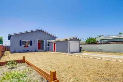 San Diego Single Family Home For Sale: 3585 Boston Ave.