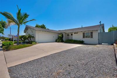 San Diego Single Family Home For Sale: 6302 Lake Atlin Ave