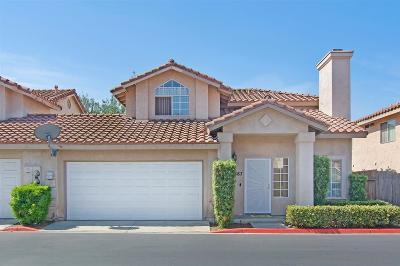 El Cajon Single Family Home For Sale: 887 Friendly Circle