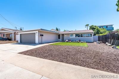 San Diego Single Family Home For Sale: 2926 Marathon