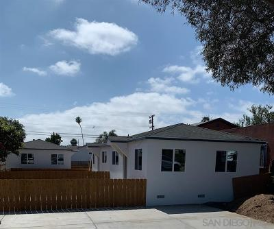 North Park Rental For Rent: 3722-28 36th St