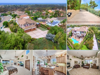 Carlsbad CA Single Family Home For Sale: $1,595,000