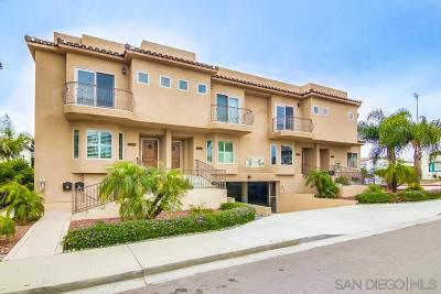 San Diego Townhouse For Sale: 1261 Evergreen St.