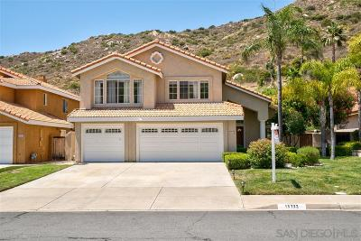 Poway Single Family Home For Sale: 15732 Hidden Valley Dr