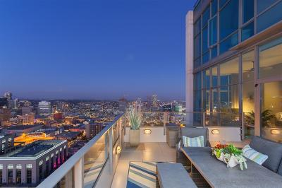 San Diego Attached For Sale: 550 Front St #3102