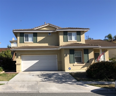 Chula Vista Single Family Home For Sale: 1722 Bridlevale Rd