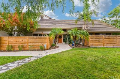Poway Single Family Home For Sale: 14215 Ipava Dr