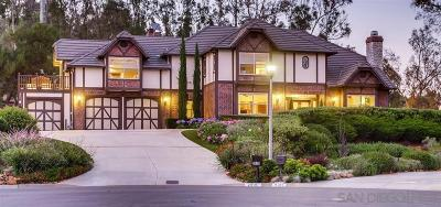 Carlsbad Single Family Home For Sale: 2910 Candil Place