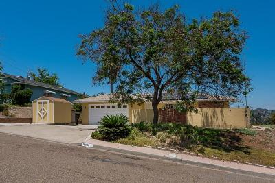 Spring Valley Single Family Home For Sale: 10068 Casa Nueva St