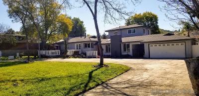 Lakeside Single Family Home For Sale: 13417 Sunny Lane