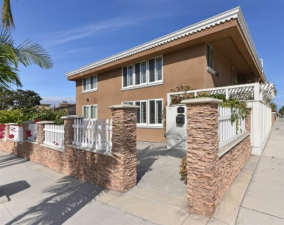 La Jolla Single Family Home For Sale: 740 Genter Street