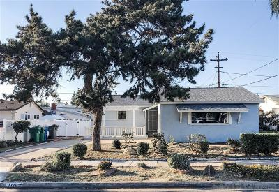 El Cajon Single Family Home For Sale: 1118 Tulsa St