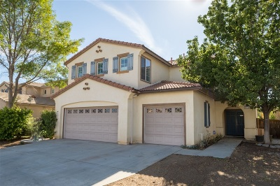 Murrieta, Temecula Single Family Home For Sale: 37729 Sprucewood Lane