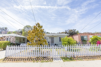 San Diego Single Family Home For Sale: 250 S 33rd St