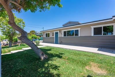 Single Family Home For Sale: 4857 Onate Ave.