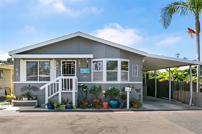 San Diego County Mobile/Manufactured For Sale: 195 Evergreen Pkwy