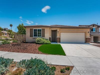 San Diego County Single Family Home For Sale: 1193 Tangelos Pl