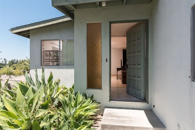 La Mesa Single Family Home For Sale: 9400 El Tejado Rd