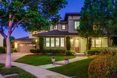Carlsbad Single Family Home For Sale: 3405 Corte Pino