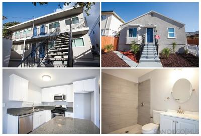 San Diego CA Multi Family 5+ For Sale: $1,349,000